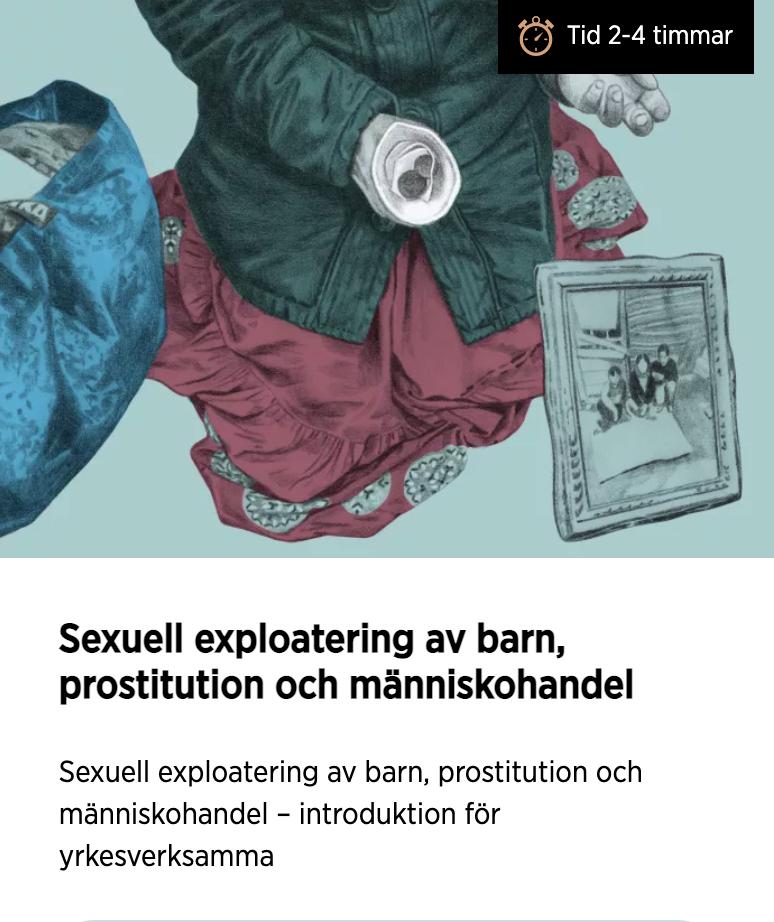 Utbildning mot prostitution och människohandel